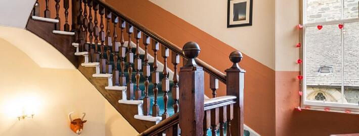青島步步升樓梯